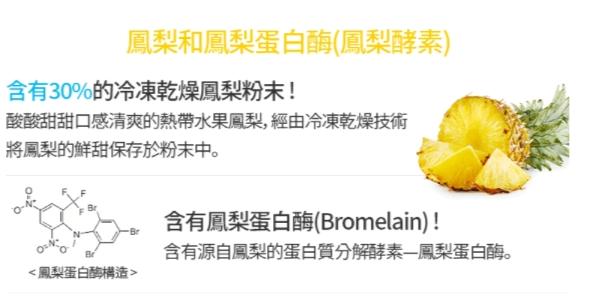 鳳梨酵素的主要成分